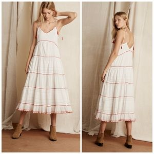 Katelyn Scallop Maxi Dress